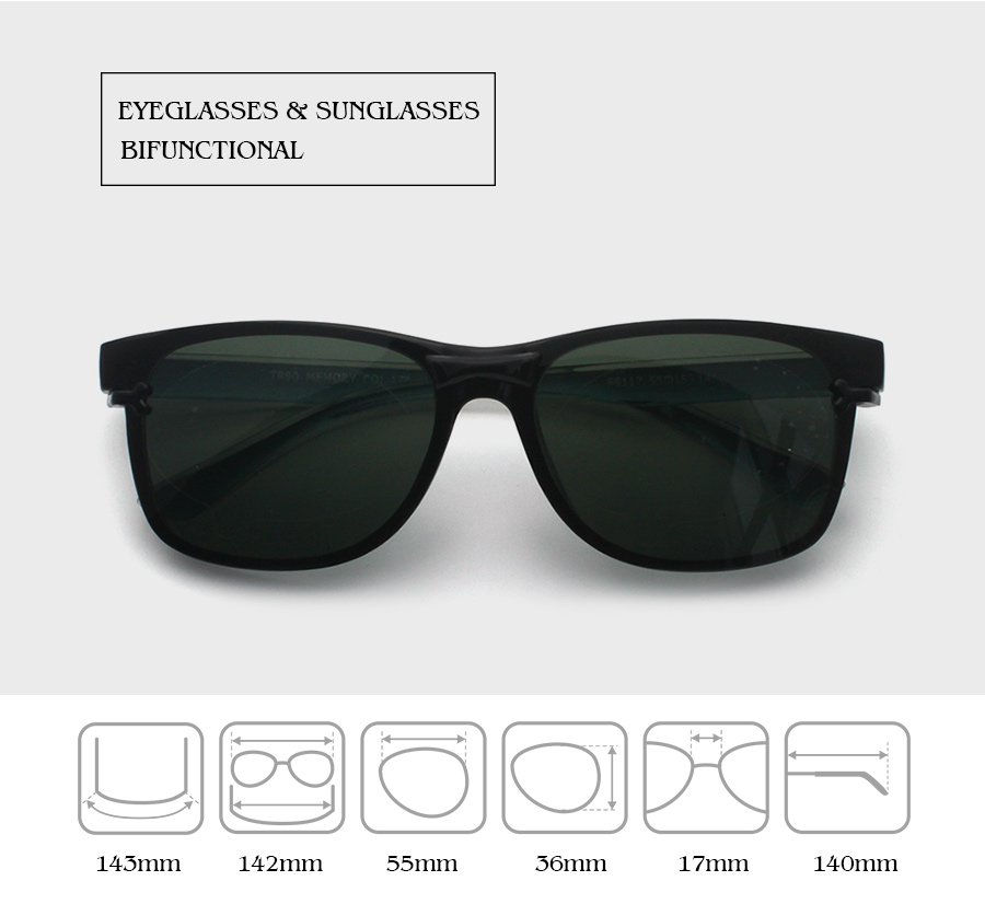 f7281d70d0b Ultra Light Magnetic Polarized Sunglasses Clip Latest Design ...