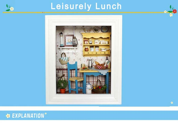 Leisure Lunch Frame Miniature