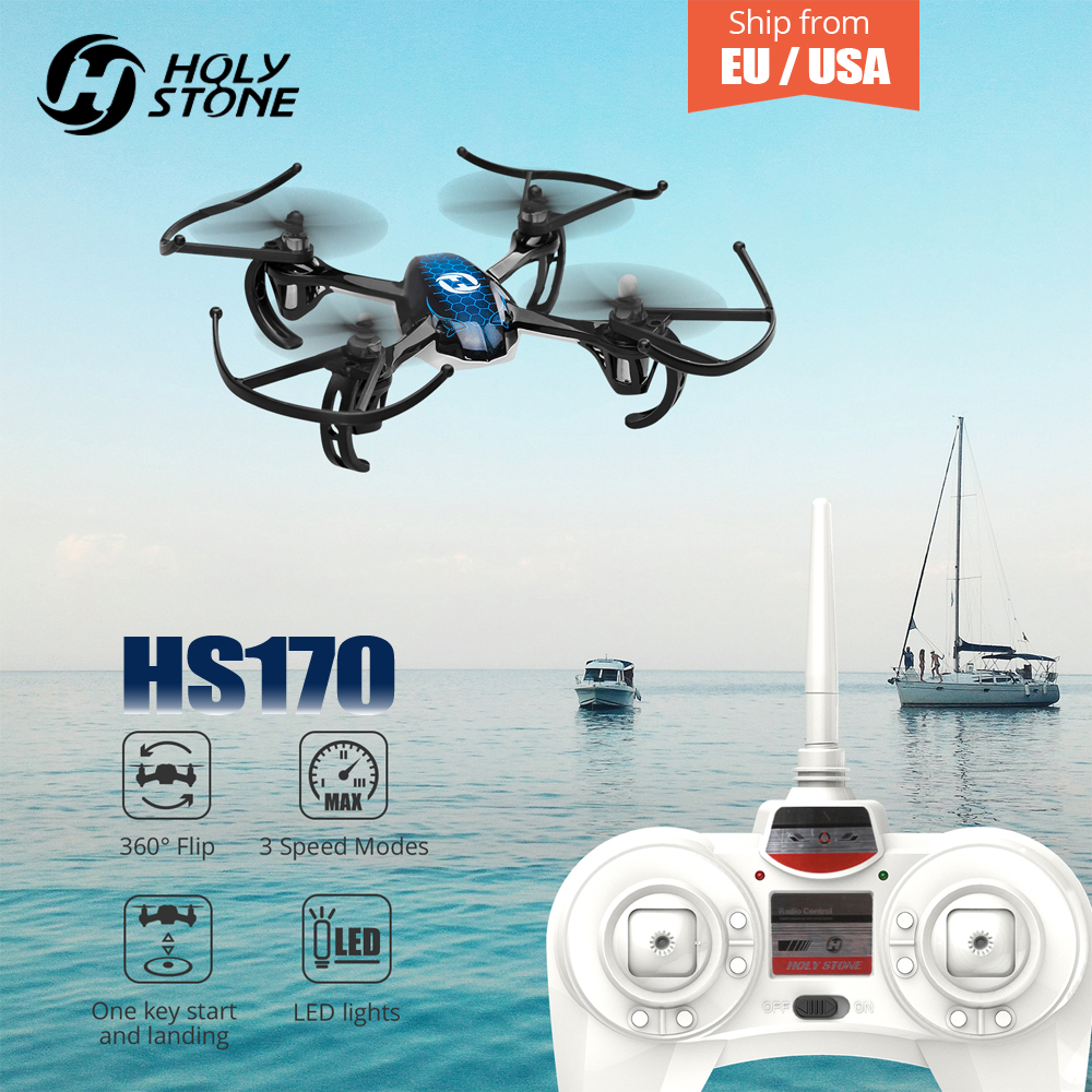 Holy Stone HS170 font b Drone b font Predator Mini RC Helicopter 2 4Ghz 6 Axis