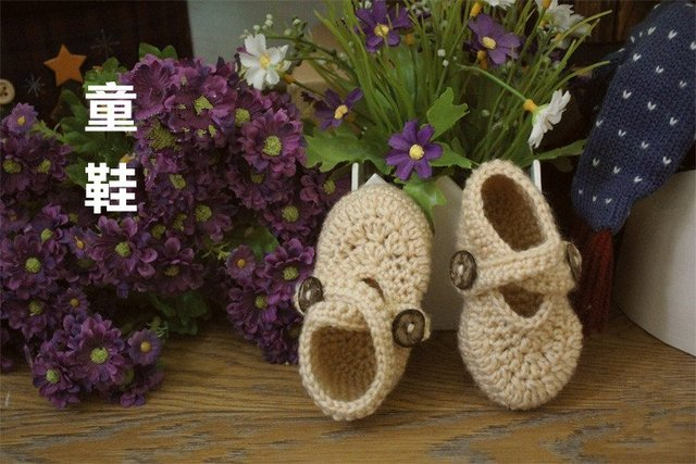 Hot Fashion Handmade Crafted Vintage Crochet Baby boy girl  New Shoes bonnet bootie beanie footwear for babies 0-12 Months ivory