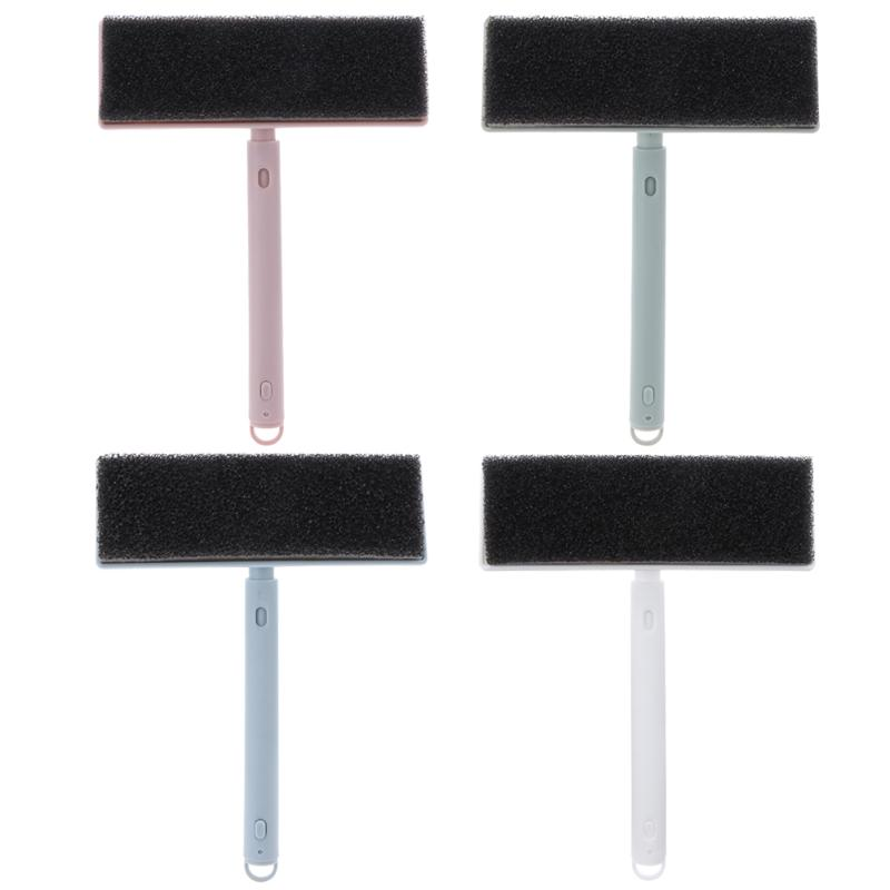 Scalable Handle Window Screens Cleaning Brush Replacement Non-Woven Dishcloth Washing Car Window Brusher Home Glass Cleaner