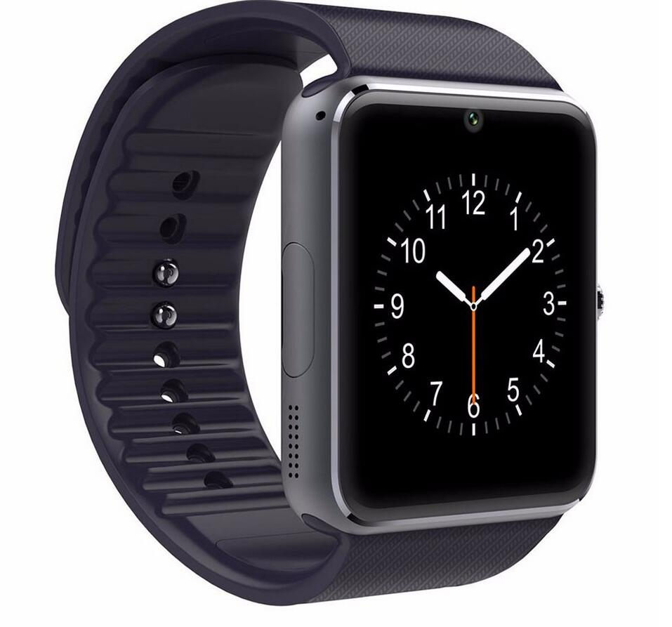 Hot GT08 Bluetooth Smartwatch font b Smart b font font b Watch b font for iPhone