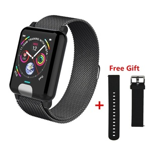 Image 1 - ONEVAN E04 Smart Band Fitness Tracker ECG PPG Blood Pressure Heart Rate Monitor Waterproof Smart Watch for Xiaomi Android IOS