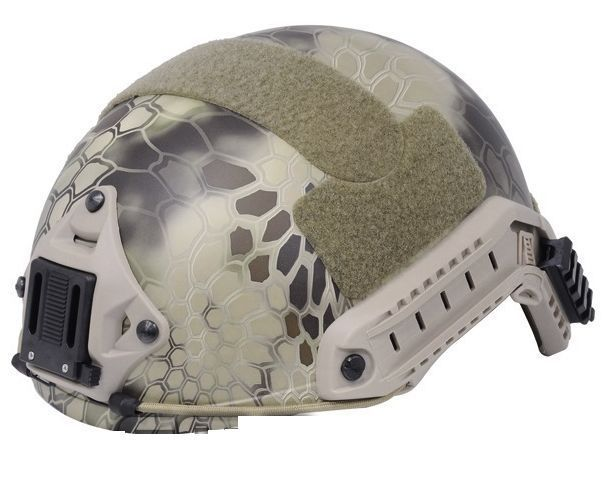 ФОТО Airsoft FAST helmet Ballistic style Helmet ( Kyptek Highlander ) cycling helmet