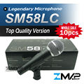 Free Shipping! 10pcs Top Quality Version SM 58 58LC SM58LC Karaoke Handheld Dynamic Wired Microphone Real Transformer Inside Mic