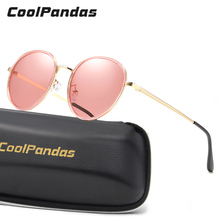 4876f2786ba BRAND DESIGN Round Polarized Sunglasses Women Luxury Summer Ocean candy  color Tinted lens Style Sun Glasses