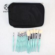 ENERGY бренд Профессиональный 15 шт. кисти для макияжа Make Up Brush Set Brochas Maquillaje Pinceaux Макиллаж Pincel Maquiagem B15WW
