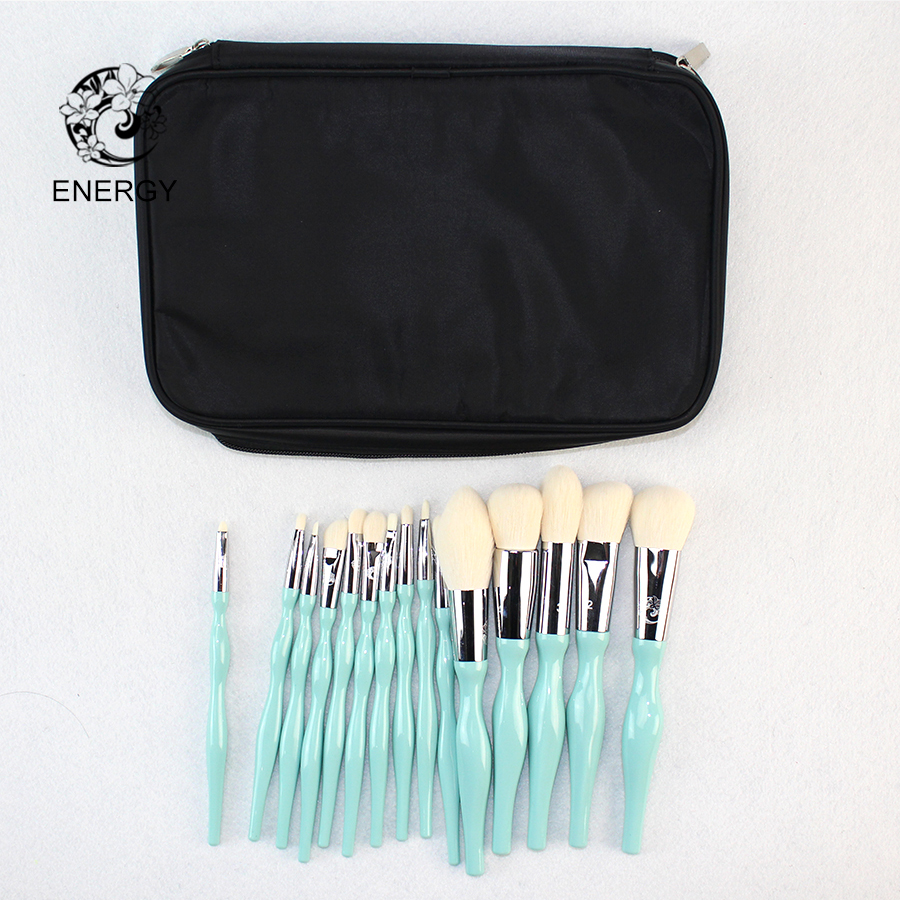 Marque De L'ÉNERGIE Professionnel 15 pcs Pinceaux de Maquillage Make Up Brush Set Brochas Maquillaje Pinceaux Maquillage Pincel Maquiagem B15WW