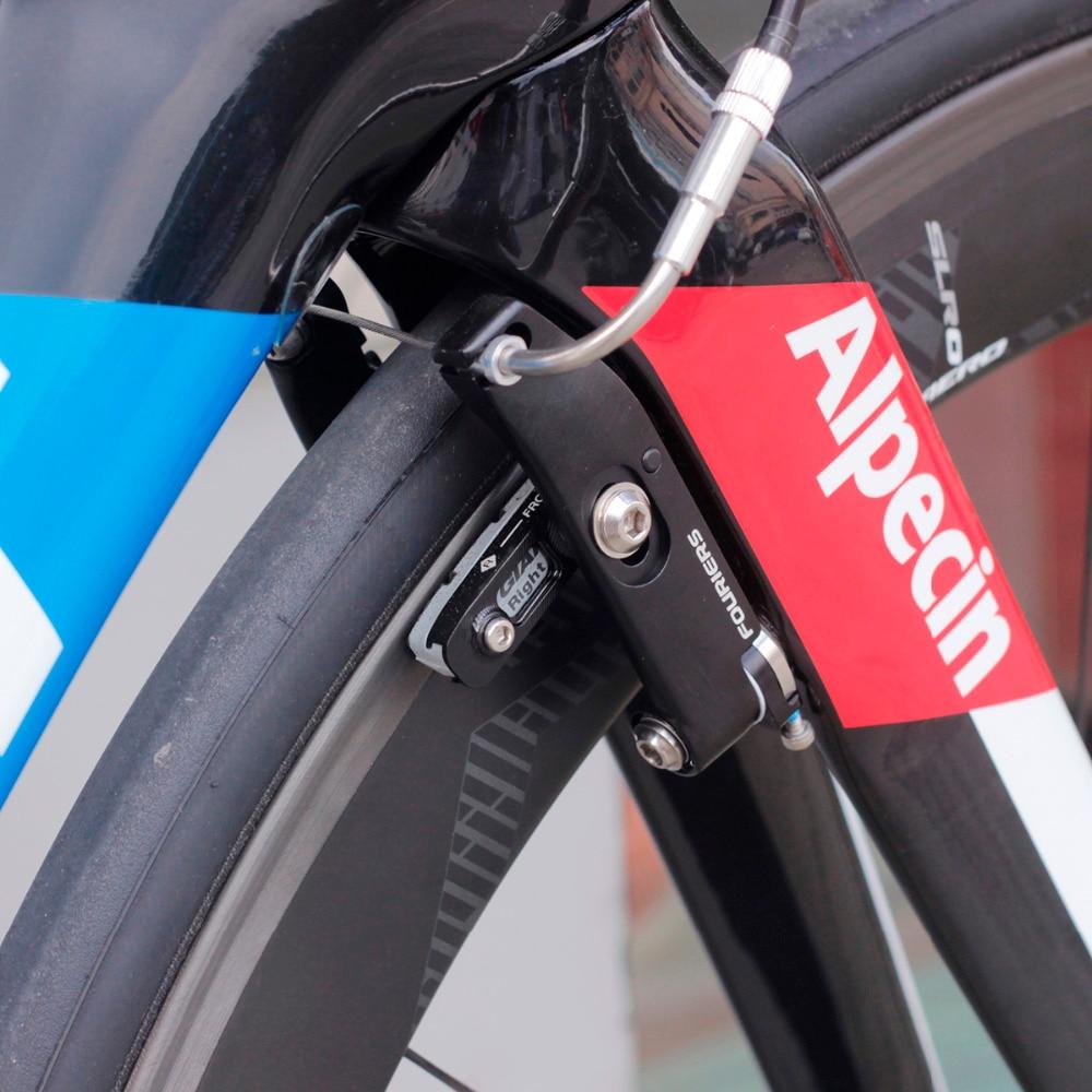 Frente + Trás Fourier Aero Road Bike Montagem Direta V freio Para Propulsão Gigante Novo Sem caixa Orignal 700C Bicicleta freios