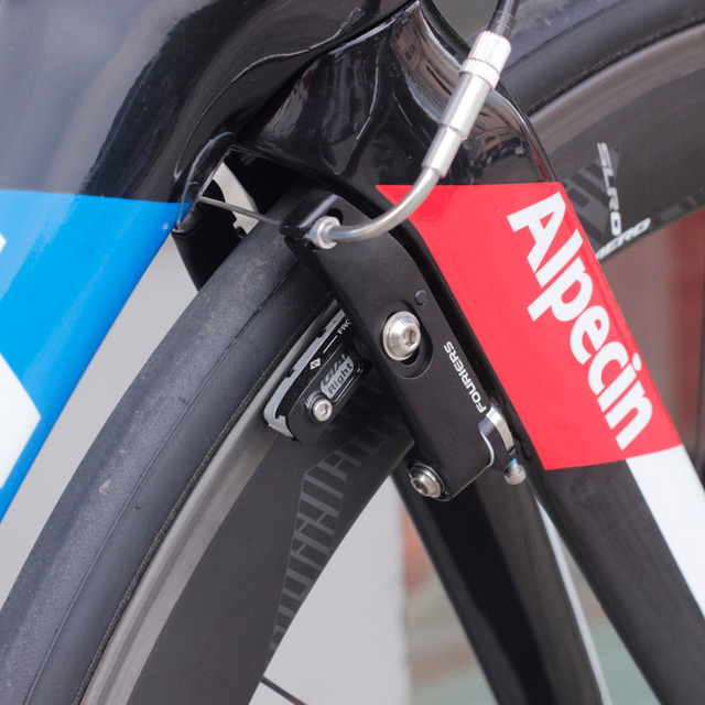Front Rear Fouriers Road Bike Direct Mount Aero V Brake