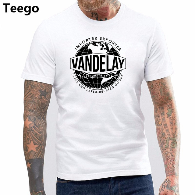 DIY Style Mens T Shirts Funny Vandelay Industries Shirt Seinfeld Tv