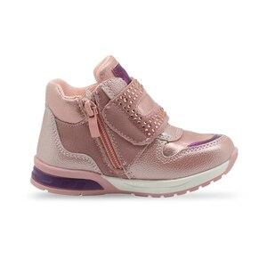 Image 4 - Женские ботильоны со стразами Apakowa, мягкие весенние вечерние ботинки для прогулок и прогулок, нескользящая обувь для малышей