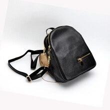 2017 г. повседневные Anti-Theft рюкзак женщины Натуральная кожа небольшой рюкзак для девушки из натуральной яловой кожи рюкзак Mochila Feminina