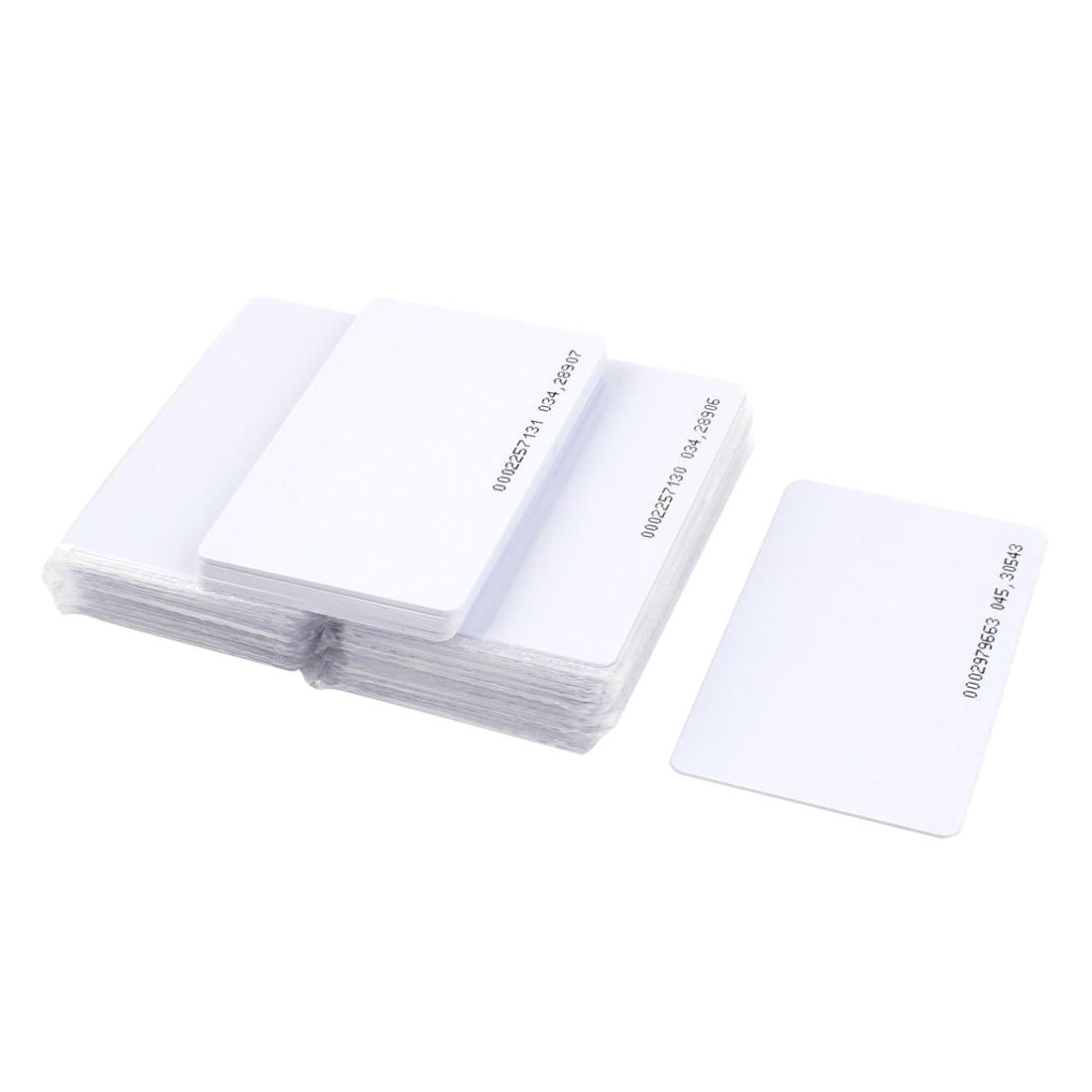 MOOL 50 Pieces Intelligent Proximity EM4100 125kHz RFID Proximity Card Entry Empty ID Access