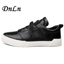 2019 Men Casual Loafers Street Black White Sneakers Thick Sole Platform Male Flat  8#23F50