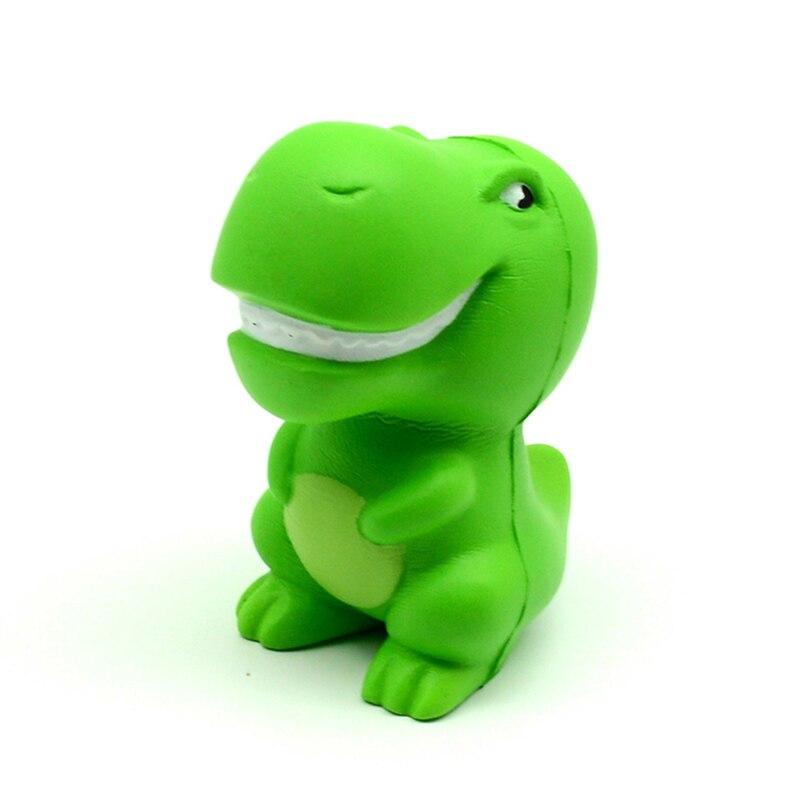 Kawaii Jumbo Green Cartoon Dinosaur Squishy Slow Rising Squeeze Toys PU Simulation Stress img2