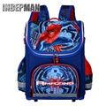 Hot Sale 2016 Children Spiderman School Bag Kids Cartoon Backpack Boy Student Waterproof 3D Print Character Orthopedic Schoolbag