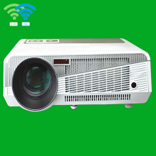 3500 Lumens 5.8 inch LCD+LED lamp HD projector system with 1280*800 pixels resolution 3000:1 contrast ratio