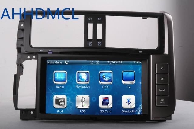 2 DIN Car CD Radio Audio DVD Player GPS SWC For Toyota Prado 2010 2011 2012 2013 2014 2015 2016 2017 Free Shipping