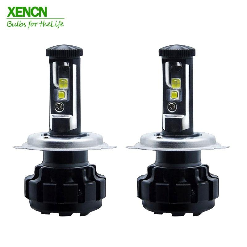 Xencn coche Faros H1 H3 H4 H7 H8 H9 H11 H13 LED 9005/HB3 9006/hb4 9012 auto niebla Iluminación reemplazo Bombillas de los faros
