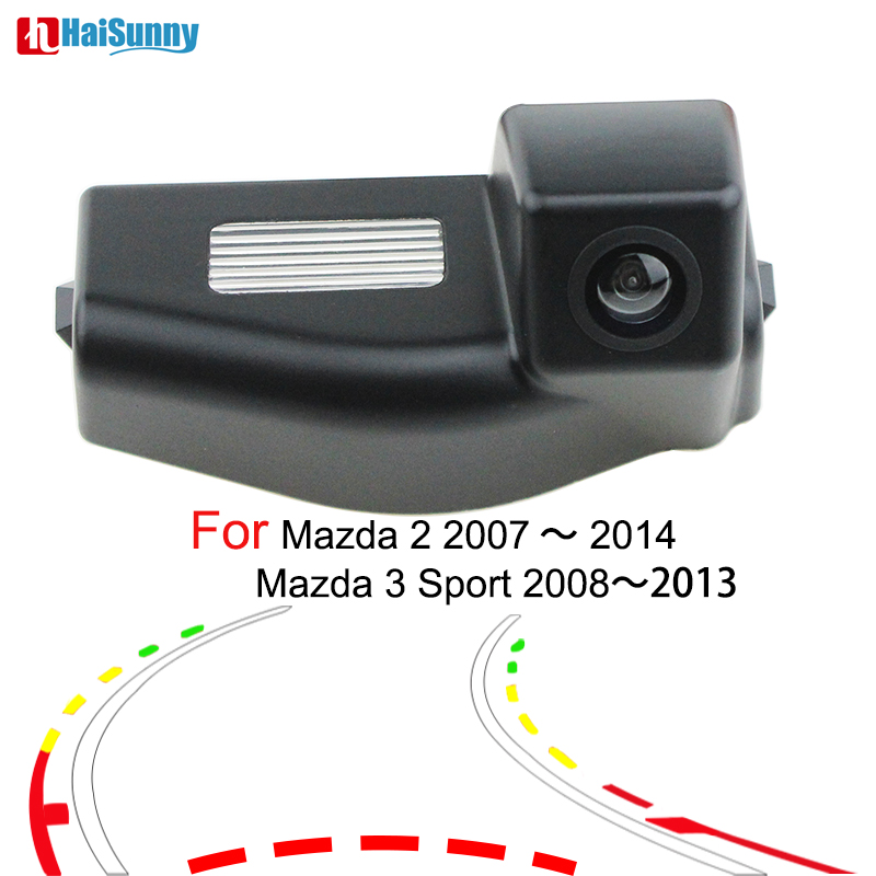 For <font><b>Mazda</b></font> <font><b>3</b></font> Sport <font><b>Mazda</b></font> 2 2007- <font><b>2012</b></font> 2013 2014 Car Parking Rear View Camera Assist CCD With Night Vision Reverse Backup Camera image