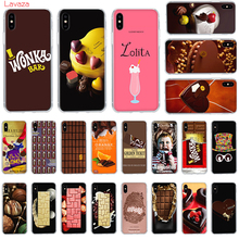 Lavaza Chocolates Pattern Hard Phone Case for Apple iPhone 6 6s 7 8 Plus X 5 5S SE XS Max XR Cover