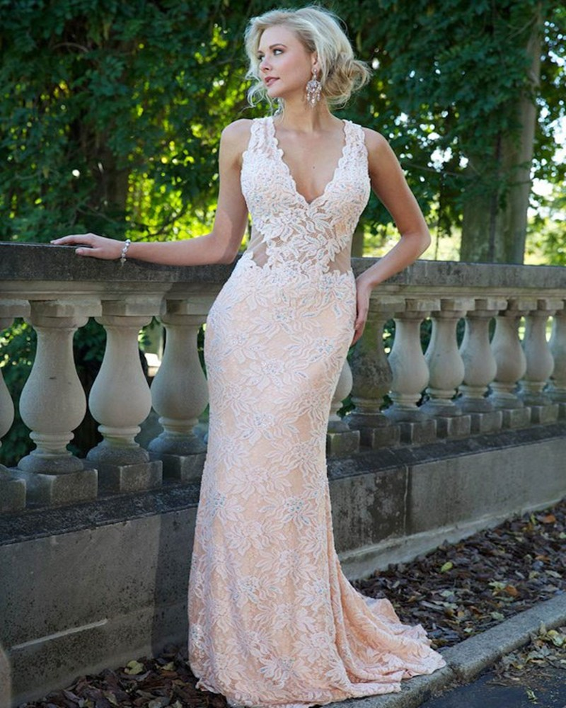 Outstanding Cheap Light Pink Prom Dresses Inspiration - Wedding ...