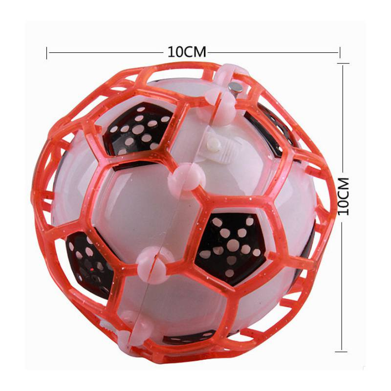 New Light emitting football Pet Dog Toys for small dogs With Colorful Squeaky Bouncing Ball Dog Toy Bouncing Ball For cat child in Dog Toys from Home Garden