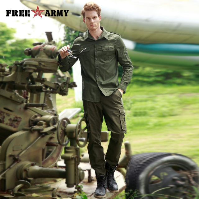 ARMY High Quality Basic Shirts  3