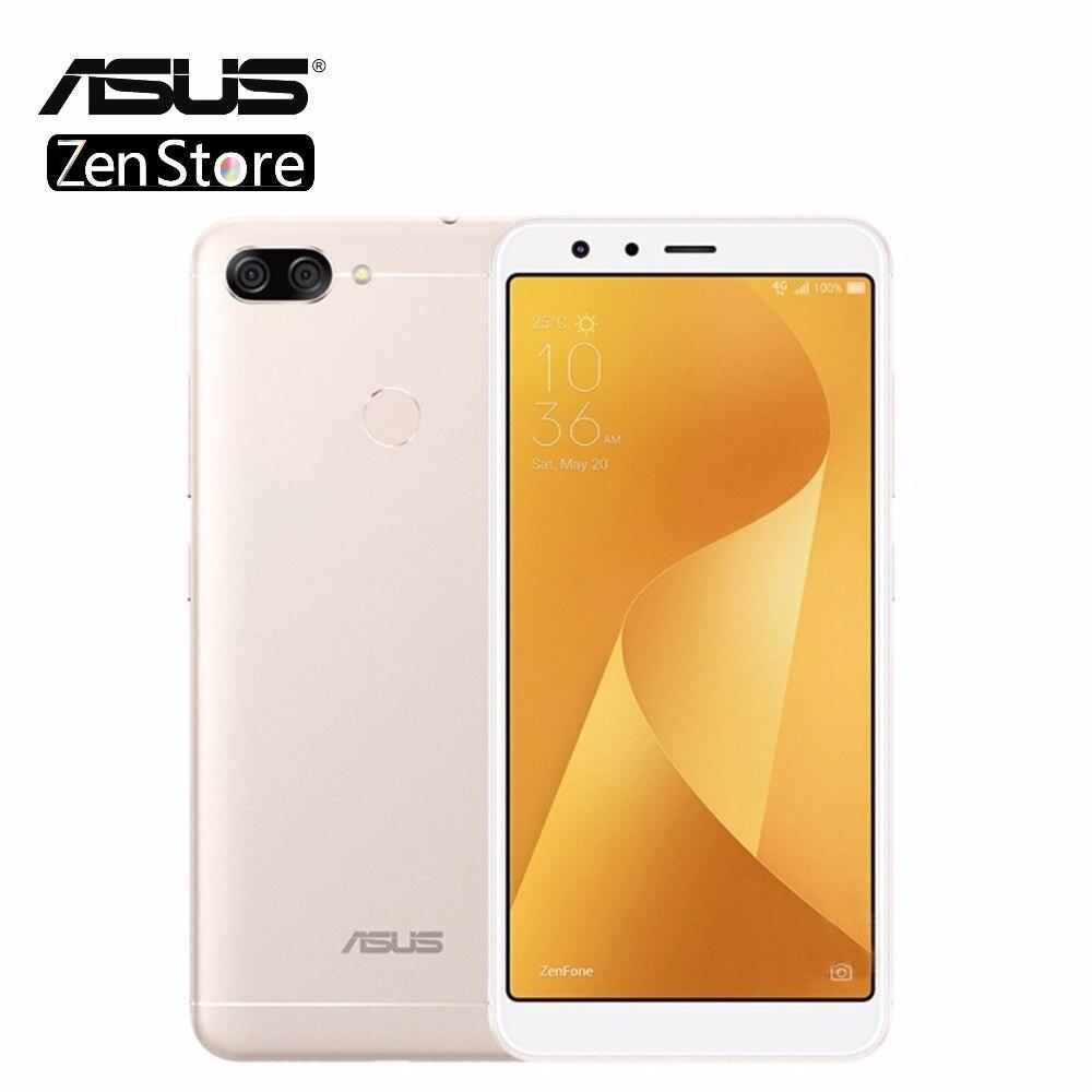 Asus Zenfone Peg asus 4S Max Plus (M1) x018DC ZB570TL 5.7 pouces 18:9 Plein Écran 4 GB 32 GB Octa Core Android7.0 4130 mAh Téléphone