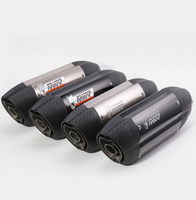 51MM Motorcycle Mivv Exhaust Muffler Pipe With Moveable DB Killer Z800 Devil Monster 796 Modified Exhaust Pipe