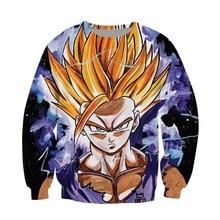 Teen Spirit Sweatshirt Dragon Ball Z teenaged Gohan super saiyan 3d Print