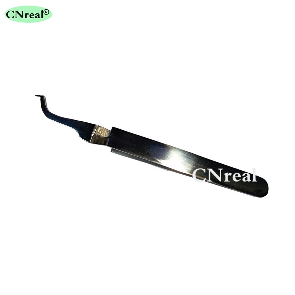 1 peça dental bucal tubo pinças ortodontic dispositivo cirúrgico fórceps
