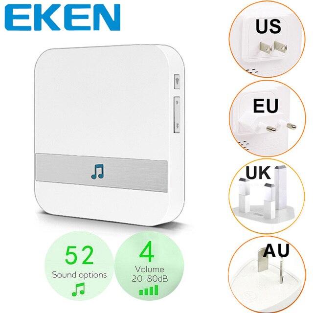 สมาร์ทประตู Bell Chime WiFi Doorbell AC 110 220V US EU UK AU ปลั๊ก XSH app สำหรับ EKEN Chime V5 V6 V7 สำหรับ B30 B10 B50 B60 B70
