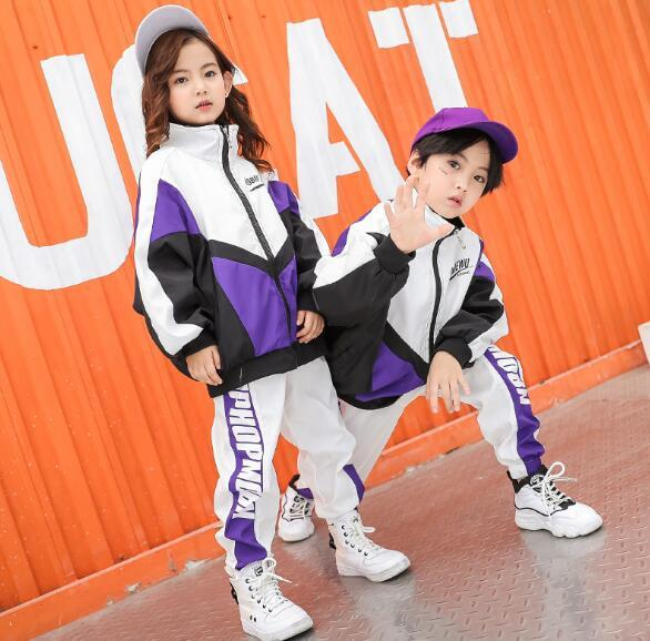 083d48dd6 Children Tracksuit Set Spring Autumn Teen Jacket And Pant 2 Pcs Boys Girls  Long Sleeved Sport