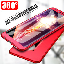 360 Full Protective Phone Case Samsung Galaxy S8 S9 S10 Plus Full Protective Cover for Samsung S10E S7 Edge Note 8 9 Case Cover