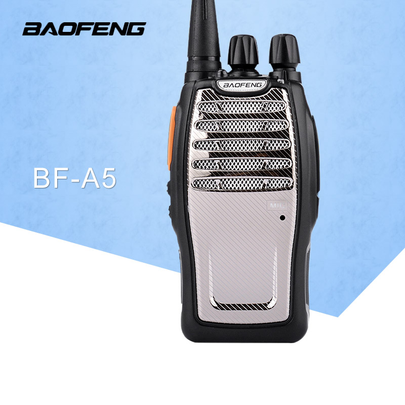 (1 st) BaoFeng UHF Walkie Talkie BF-A5 16CH VOX + Scrambler Funktion Gratis frakt Tvåvägs radio