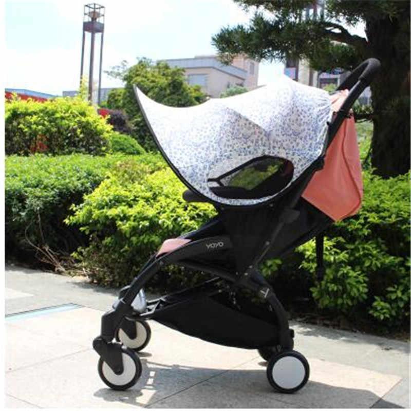 4 цвета Новая детская коляска солнцезащитный козырек анти-УФ Защита от солнца аксессуары Poussette детское автокресло коляска крышка Солнцезащитный козырек для перевозки чехол на ручку коляски