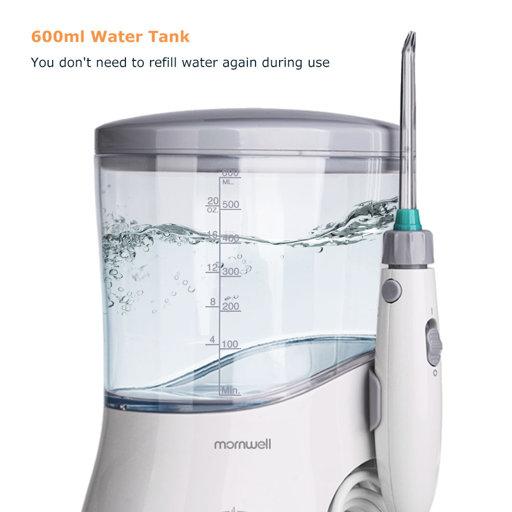 Image 5 - Mornwell Oral Irrigator Dental Water Flosser irrigator flosser Water Jet irrigador dental Family Oral Care-in Oral Irrigators from Home Appliances