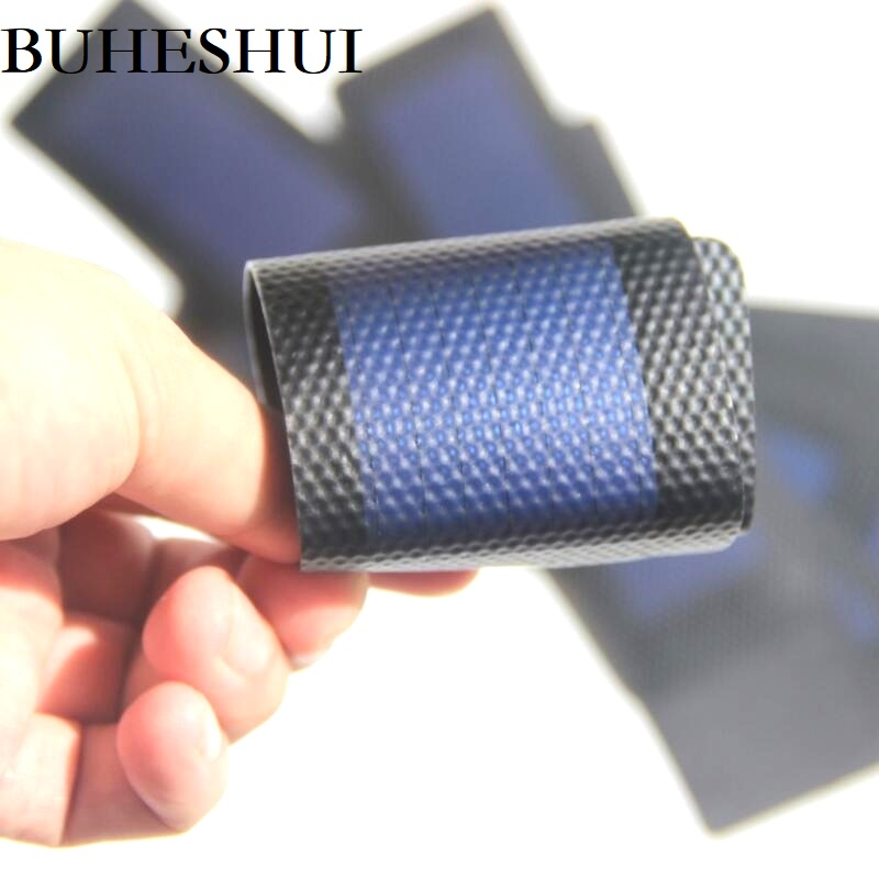 BUHESHUI 1.5W 1W 0.7W 0.5W 0.3W 1.5V Flexible Solar Cells Amorphous Silicon Foldable Very Slim DIY Solar Panel Charger System