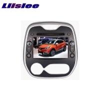 For Renault Captur CLIO Samsung QM3 2011 2017 LiisLee Multimedia TV DVD GPS Audio Hi Fi