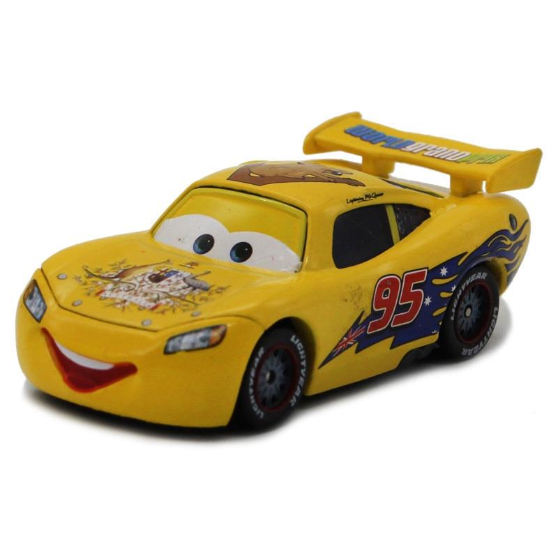 Cartoon pixar cars diecast yellow mcqueen australia - Image voiture cars ...
