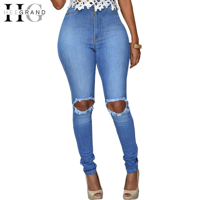 High Quality Skinny Stretch Pencil Jeans