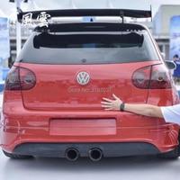 for Volkswagen Golf MK 4 5 6 7 MK 7.5 2008 2018 Carbon Fiber rear boot Wing Spoiler Wing Trunk Lip Boot Cover