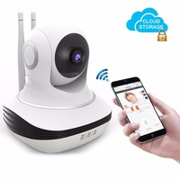 Home Wi fi Wireless Camera Mini HD 720P IP Security Home Surveillance Baby Monitor Cloud Storage Night Vision Motion Dectection