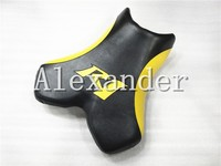 For Yamaha YZF1000 R1 2004 2005 2006 Black and yellow Motorcycle Front Driver Rider Seat Cushion Pillow Pad YZF 1000 YZFR1