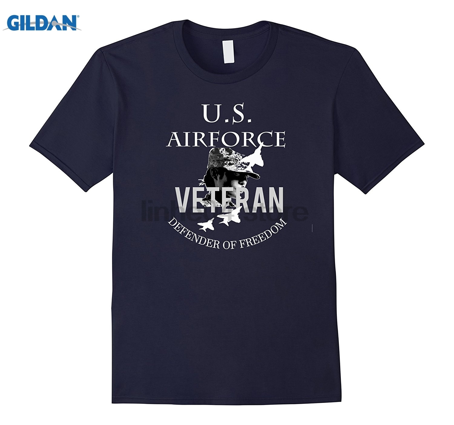 GILDAN T-Shirt - U.S Airforce Veterans Dress female T-shirt Mothers Day Ms. T-shirt