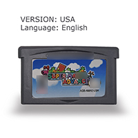 USA version Super Mari Advance 32 Bit Video Game Cartridge Console Card USA