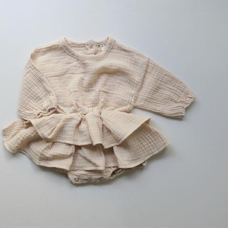 Fashion Baby Boys Girls   Rompers   New 2019 Summer Autumn Toddler Girls Boys Ruffles   Rompers   Sweet Kids Japan Korean Clothings
