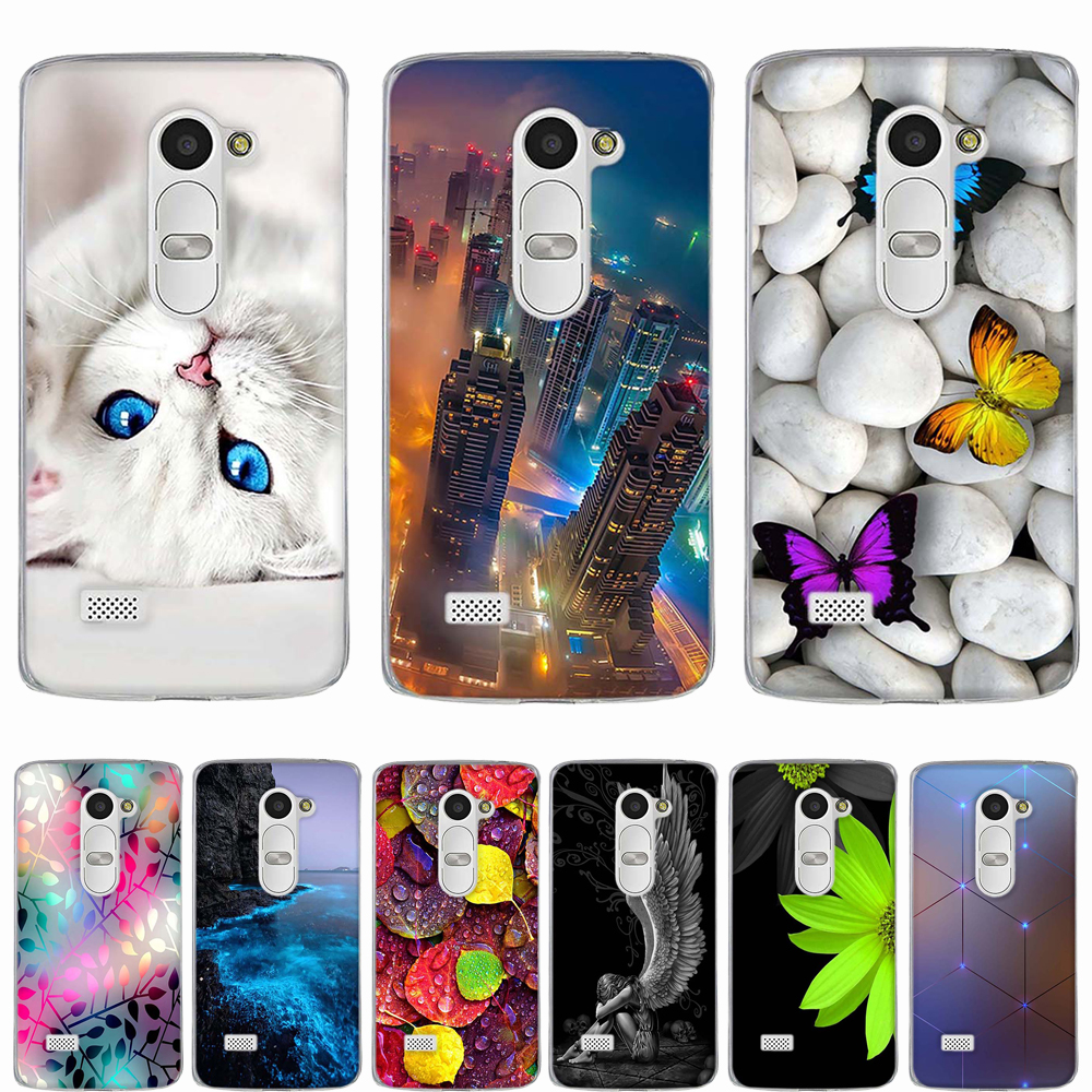 save off c3a52 f010e For LG Leon 4G LTE H340N Soft Silicone Back Cover Case For LG H320 H340  H324 c40 Case Phone Coque For LG Leon Bag 3D Relief Case